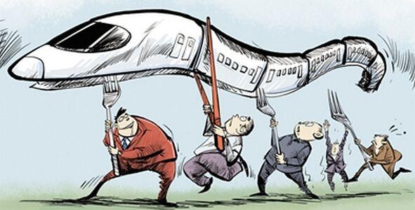 """高铁""""争夺战""""改革要从体制入手"""
