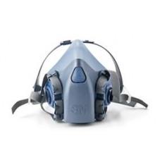 3M双过滤元件半面罩呼吸器7500系列