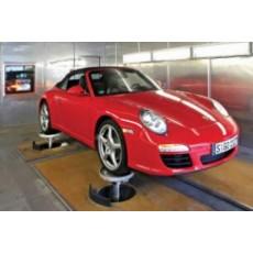 MTS汽车测试系统 320型轮胎耦合道路模拟器